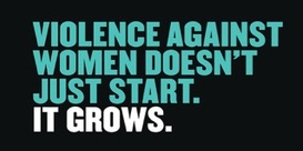 Government releases new ad campaign to combat violence against women.